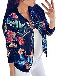 Suchergebnis Auf Amazonde Für Blumen Jacke Blau Bekleidung