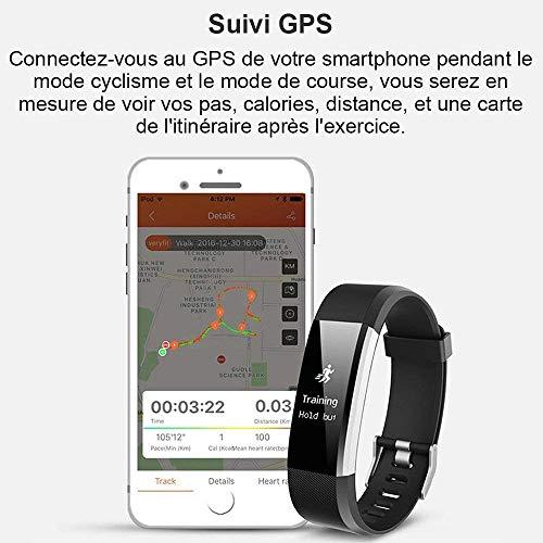 Montre Connectée, Willful Bracelet Connectée Fitness Tracker d'Activité Cardiofréquencemètre Etanche IP67 Smartwatch Cardio Podomètre Sport ... 9
