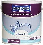 Johnstones Kitchen and Bathroom 2.5 Litre - Brilliant White