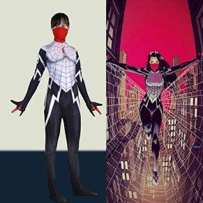 werty Cosplay Ropa Marvel Enmascarado Traje De Cosplay De Spiderman Femenino Lycra Anime Costume 3D Impresión Digital…