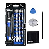 Precision Magnetic Screwdriver Set 63 in 1 by EAXER, Magnetic Electronic Repair Tool Kit with 56 Bits for for iPad, iPhone, MacBook, PC, Smartphones, Xbox, PS4, Watches, Glasses & Other Electronics