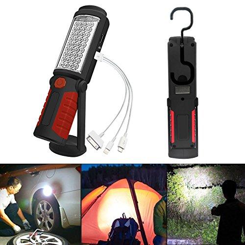 SunTop-LED-Arbeitsleuchte-mit-Magnet-Aufladbar-Taschenlampe-Werkstattlampe-Portable-Handlampe-Campinglampe-fr-Auto-Reparatur-Werkstatt-Garage-Camping-Notbeleuchtung