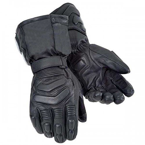 Bikers Gear Australian Storm Winter Thinsulate Kevlar e Hipora guanti impermeabili, colore: Nero,...