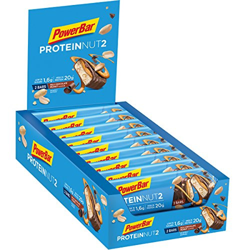 Powerbar Protein Nut 2 Milk Chocolate Peanut - 18 Barras