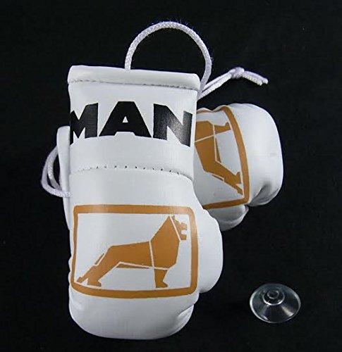MAN-LKW Mini Boxhandschuhe für Lastkraftwagen/Nutzfahrzeuge. Weiße Handschuhe 1