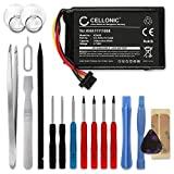 Cellonic® Qualitäts Akku kompatibel mit Tomtom 4FL50 4FL60 Go 5000 Go 5100 Go 6000 Go 6100 Pro Truck 5250 (1100mAh) inkl. Werkzeug-Set AHA11111008 VFAD Ersatzakku Batterie