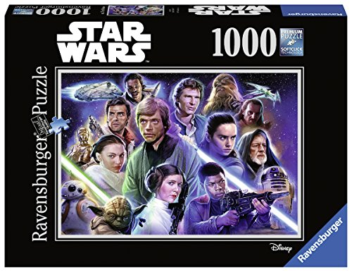 Ravensburger Adulti Puzzle 19888 Starwars: Limited Edition 7, Puzzle
