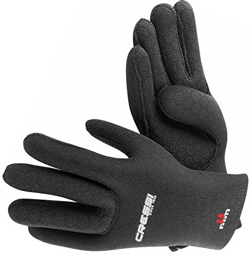 Cressi High Stretch Gloves, Guanti in Neoprene 2.5 mm per Apnea e Immersioni, Unisex Adulto,...