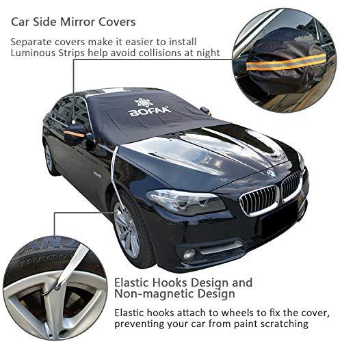BOFAA Car Windscreen Cover(Non-Magnetic)