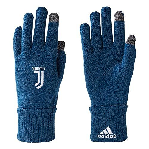 adidas Juventus, Guanti Unisex Bambini, Blu (Azunoc/Brgros/Bianco), M