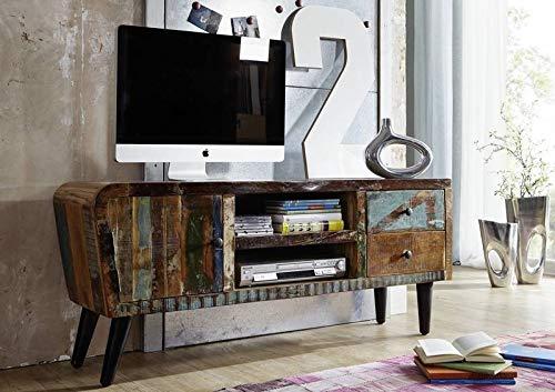 in Legno massello Mobili solido completo Scheda TV Legno antico legno massello Mobili in legno...
