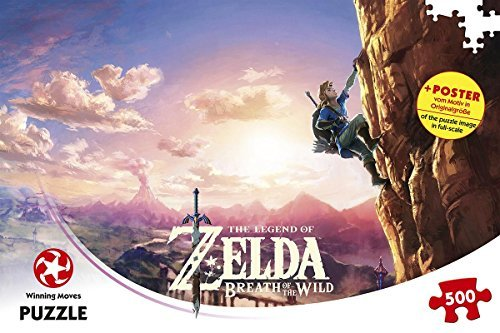 Winning Moves GmbH WIN11231The legend of Zelda Breath of the Wild puzzle Game