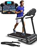 Sportstech Tapis de course électrique F10 commande par application...