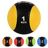 Medizinball 1 - 5 kg - Professionelle Studio-Qualität Gymnastikbälle