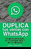 Duplica tus ventas con WhatsApp: En MercadoLibre, en tu página web o en tu negocio