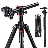 Treppiede Reflex K&F Concept TM2515 Treppiedi Fotocamera Professionale...