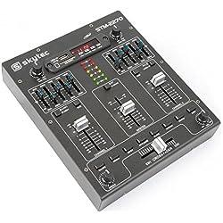 Skytec 172982 4-Kanal-Mixer mit Effekten, SD / USB / MP3 / BT