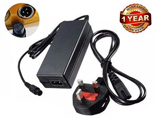 neri 42V 2A UK Spina AC Adattatore Caricabatterie per Hoverboard 2Ruote Auto bilanciamento...
