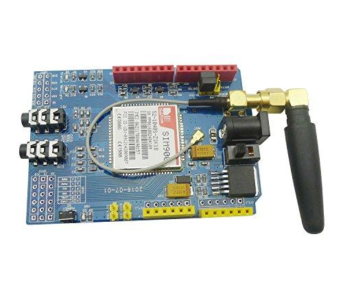 51DMsc0t9XL - Aihasd SIM900 gsm GPRS Module Quad-Band Development Board Wireless Data for Arduino Raspberry Pi