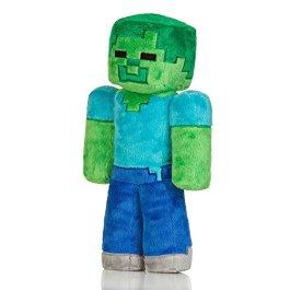 Minecraft- Peluche Zombie 30,5 cm, Colore Green, Taglia Unica, JX5949