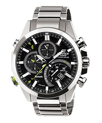 Casio Edifice Herren-Armbanduhr Bluetooth Collection Analog Quarz Edelstahl EQB-500D-1AER