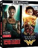 Coffret Tomb Raider (2018) + Wonder Woman - Collection de 2 films - Coffret Blu-Ray 4K [4K Ultra HD + Blu-ray]