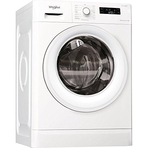 Whirlpool FWF 81284W IT lavatrice Libera installazione Caricamento frontale Bianco 8 kg 1200...