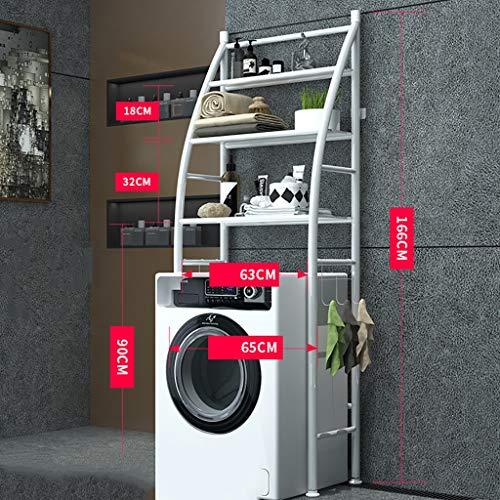 Ripiano per lavatrice Cremagliera della lavatrice della struttura del telaio del ferro del balcone...