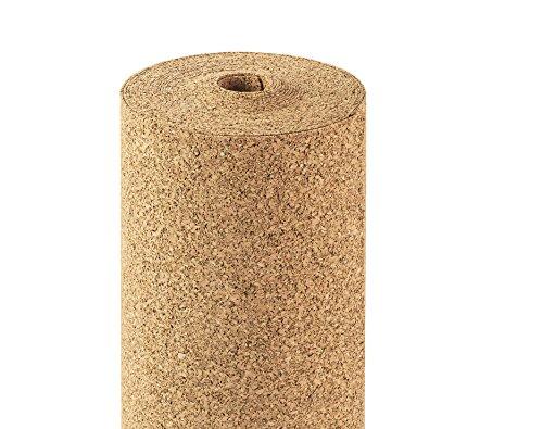 Rotolo sughero 2mm di spessore, 10qm, 10x 1m, daemmun terlage Roll sughero isolamento...