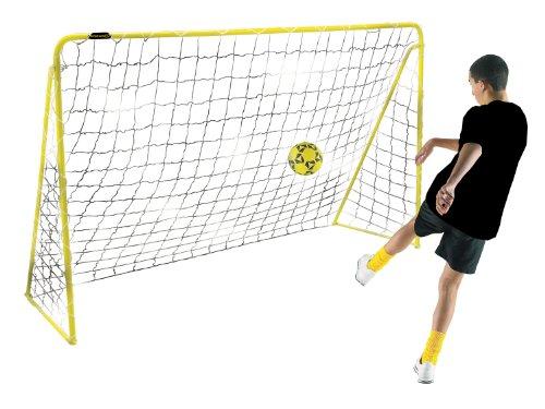 Kickmaster M06046-02 - Portería de fútbol ( acero, 6 pies (1,83 m) ) , color amarillo