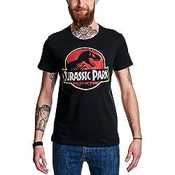 JURASSIC PARK - T-Shirt Classic Logo (M) : TShirt