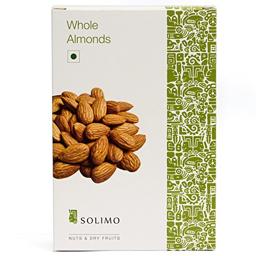 Solimo Premium Almonds, 250g