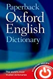 Paperback Oxford English Dictionary [Lingua inglese]