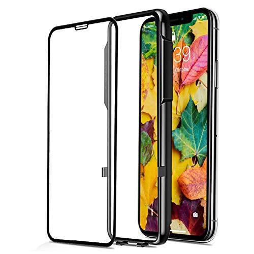 CELLBEEiPhone X XS 11 Pro Panzerglas-Apple Kompatibel, Panzerglasfolie, Curved, Applikator,...