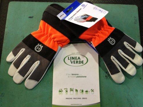 Husqvarna 579 38 02-08 Guanto protettivo Grigio, Arancione Pelle, Finta pelle, Neoprene 1 pezzo(i)