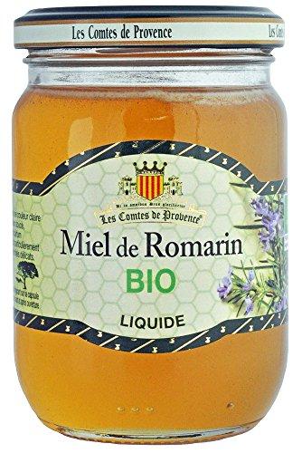 Miel de Romarin Liquide Bio Les Comtes de Provence 330 g