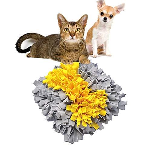 Yhjmdp Stuoia d'alimentazione per Cani,DIY Manuale Cuscino da fiuto per Animali Domestici,Snuffle...