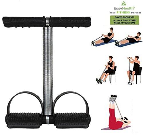 EasyHealth™ Single Spring Tummy Trimmer-Waist Trimmer-Abs Exerciser-Body Toner-Fat Buster- Multipurpose Fitness Equipment for Men and Women