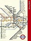 London Underground Pocket Diary 2019 [Lingua Inglese]