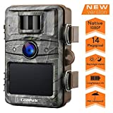 Campark Wildkamera 14MP 1080P mit bewegungsmelder No-Glow nachtsicht 2.4