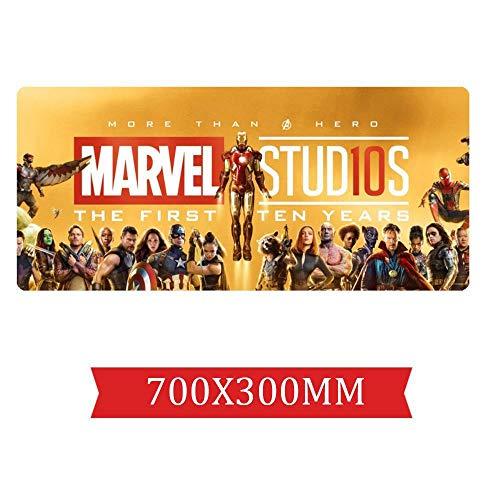 IGIRC Simpatico Tappeto Avengers per Film 700X300Mm, Perfetto Tappetino per Mouse da Gioco di...