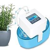 SEQH DIY Sistema de Riego, automático Vacaciones Dispositivos de riego Kit con 33ft Manguera para Flores, Terraza, Jardín o Plantas de Maceta