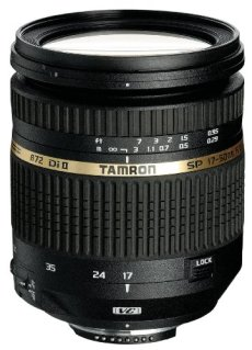 Tamron B005E AF 17-50 mm F/2.8 XR Di II VC, LD, ASL (IF)8 - Objetivo para Canon (distancia focal 17-50mm, apertura f/2.8, estabilizador óptico, macro, diámetro: 72mm) negro