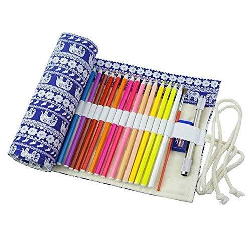 IBuyi Couleur étui à crayons crayons, la Grande pour l'école, la maison, l'art. Aussi pour...