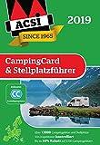 ACSI CampingCard & Stellplatzführer 2019 inkl. Ermäßigungskarte für die Nebensaison