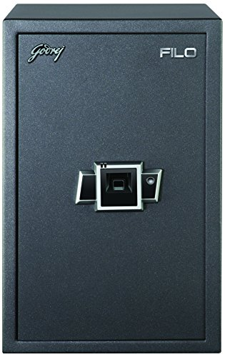 Godrej Security Solutions Filo Biometric 40 Electronic Safe (Black)