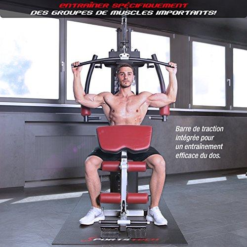 Sportstech VAINQUEUR du Test* La Station de Musculation Premium 30en1 HGX100 de pour des Variantes d'entraînement innombrables. Home-Gym Mul... 28
