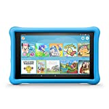 """Fire HD 10 Kids Edition Tablet, 10.1"""" 1080p Full HD Display, 32 GB, Blue Kid-Proof Case (Previous Generation - 7th)"""