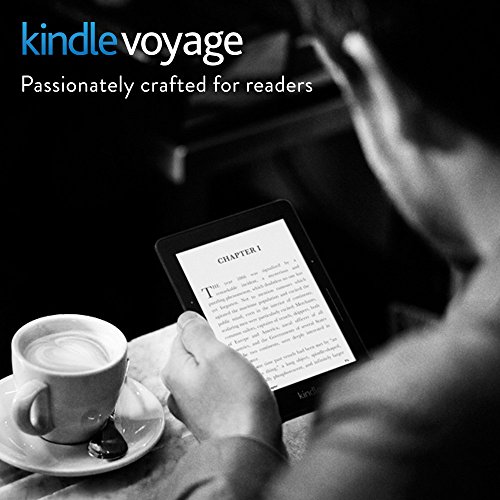 """Kindle Voyage Wifi - 6"""" High-Resolution Display (300 ppi) with Adaptive Built-in Light and PagePress Sensors 2  Kindle Voyage Wifi – 6″ High-Resolution Display (300 ppi) with Adaptive Built-in Light and PagePress Sensors 51E2U5SXLWL"""