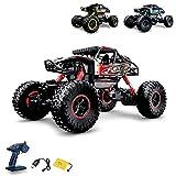 Ferngesteuertes Auto,1:16 RC Auto,2.4GHz Ferngesteuertes Monstertruck,High Speed RC-Auto mit  wiederaufladbaren Batterie
